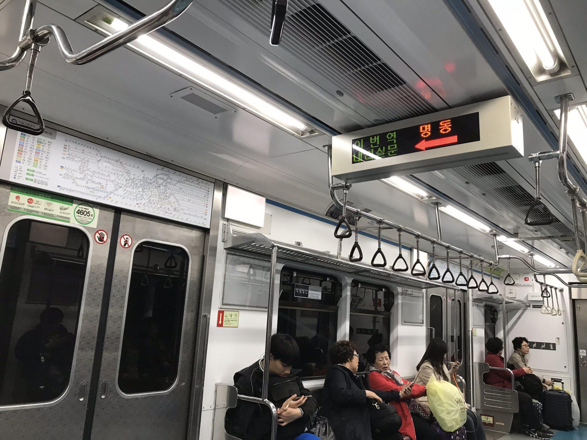 ソウル訪問記3(日本語アナウンスは何番目?)